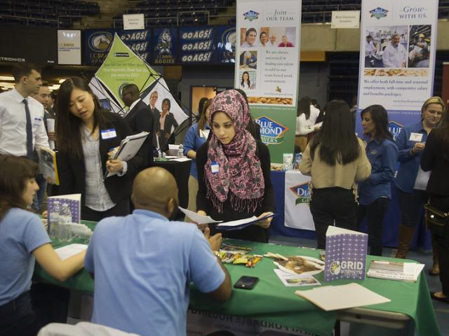 Internship and Career Fair at the Pavilion
